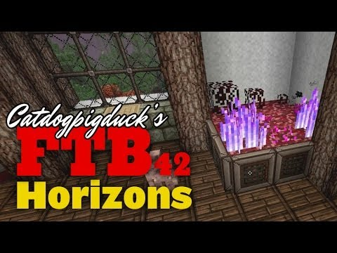 FTB Horizons - Gany's Nether Crops and Seeds! - 042