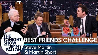 Best Friends Challenge with Steve Martin and Martin Short