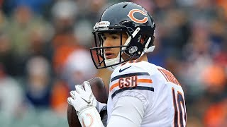 Mitchell Trubisky Outduels Andy Dalton in Bears