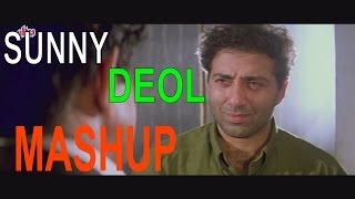 Sunny Deol Mashup Ft. Ankit Sharda Music    Sunny Deol Movies   Best Bollywood Dialogues