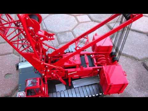 TWH 1/50 scale Manitowoc 16000 crane maxed out