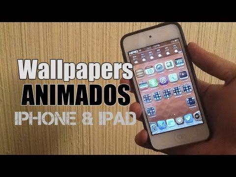 WALLPAPERS ANIMADOS en tu iPhone 5, iPod 5 y iPad (TWEAK DE CYDIA)