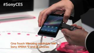 CES 2013 Sony Fan Voted Video_ NFC and the Xperia™ Z