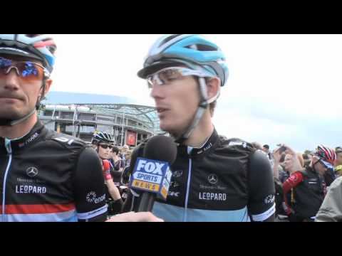Frank and Andy Schleck - 2011 Tour de France Stage 7  