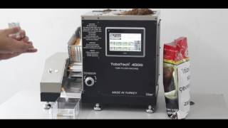 Tobatech 4000 Mini Filtre Dolum Makinesi Uygulamalı Tanıtım Videosu