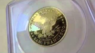 1857 0 $10 ゴールドホースマン セントラルアメリカ PCGS Deep Cameo Proof