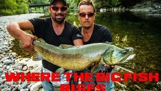 "WHERE THE BIG FISH RISES, Part 1 Slovenia MOVIE ( Fly fishing, Marble "" MARMORATA "" trout ) LEECH"