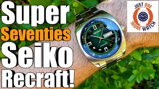 Super Seventies Seiko Recraft! SNKM97