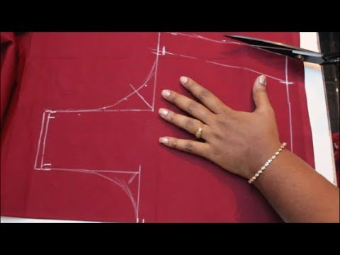 Cross Cut Blouse Cutting & Stitching (DIY) PART 1