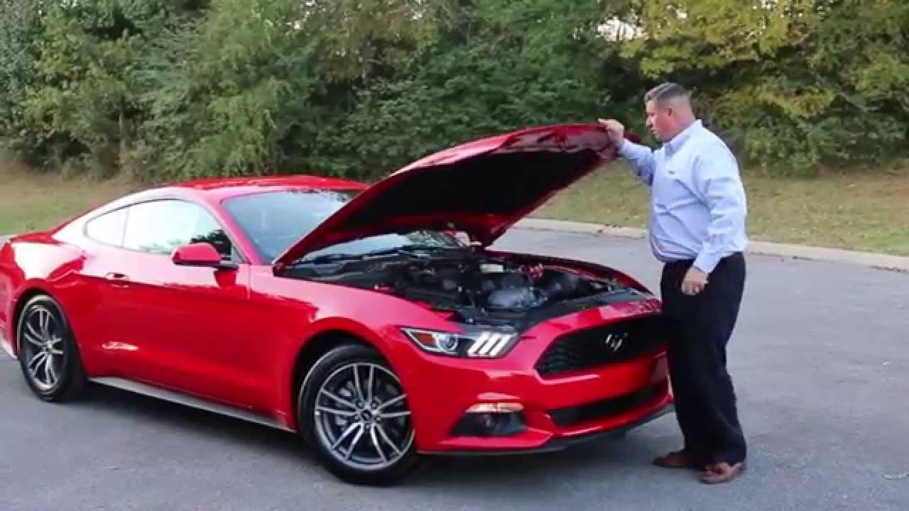 2015 Mustang Ecoboost 4 Cyl Turbo Fully Loaded Youtube