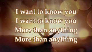 Watch William Mcdowell I Want To Know You video