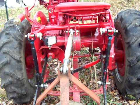3 Point Hitch On Farmall