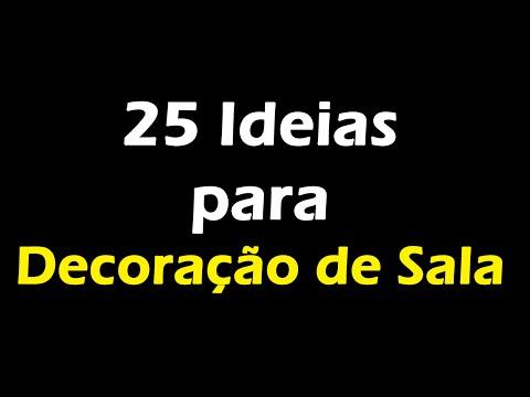 Decoração de Sala - 25 Ideias