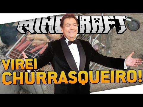 JABUTI SELVAGEM #3: VIREI CHURRASQUEIRO! - Minecraft