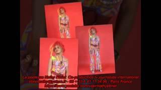 la poetesse Ebriet poesie en couleur extrait album Paris   01