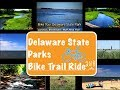 Bike Ride in Delaware State Park Cape Henlopen Junction Breakwater Trail