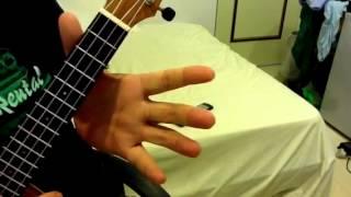 #002-1 C大調卡農 烏克麗麗 教學 part 1,C major canon ukulele part 1