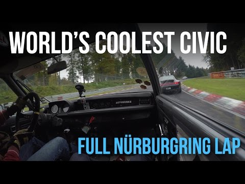 The World's Coolest Built-Not-Bought Honda Civic: Full Nürburgring Lap