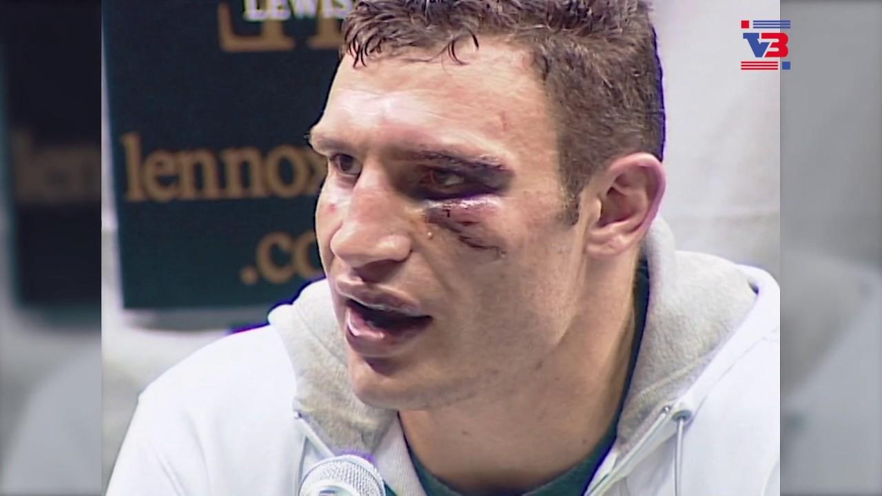 Vitali Klitschko - Lennox Lewis. Post-fight press conference.