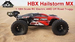 HBX Hailstorm Mini Electric RC 4WD Off Road Truggy