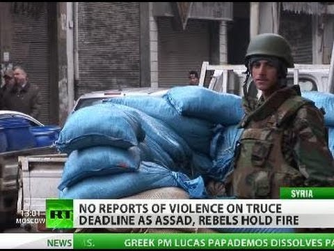 Ceasefire in Syria: Assad, rebels hold fire as deadline arrives