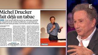 """Michel Drucker: """"Michel Delpech se bat contre une maladie terrible"""" #ONPC"""