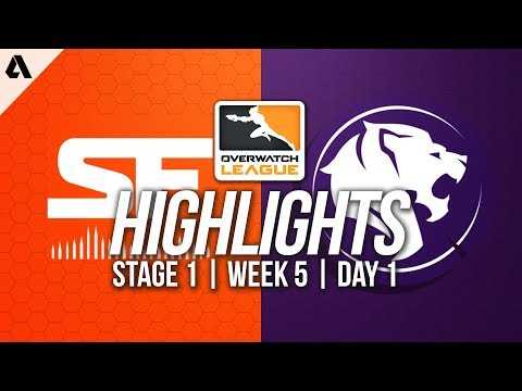 San Francisco Shock vs Los Angeles Gladiators ft Shaz | Overwatch League Highlights OWL Week 4 Day 3