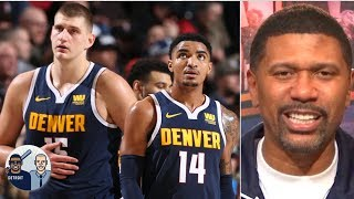 The Nuggets are legit contenders in the West - Jalen Rose   Jalen & Jacoby