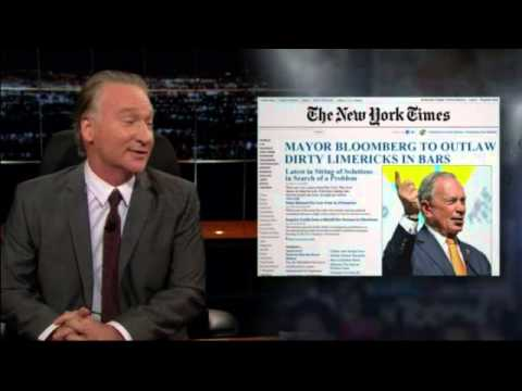 Bill Maher - Predicting Hilarious Headlines