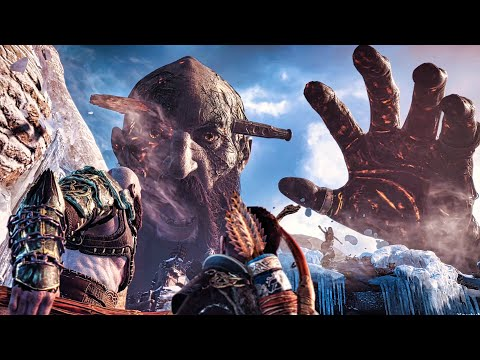 God of War 4 - Final Boss Fight (God of War 2018) PS4 Pro thumbnail