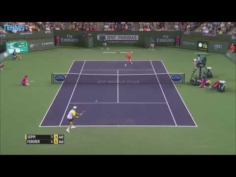 Seppi Hot Shot: 2015 BNP Paribas Open - ATP Indian Wells
