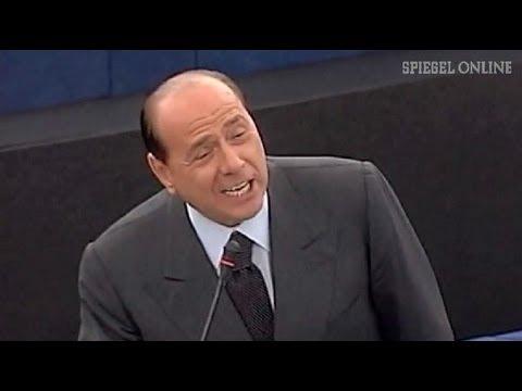 Deutschen-Witze und Skandale: Das Peinlichste vom Cavaliere Silvio Berlusconi - SPIEGEL TV