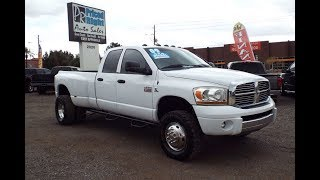 2009 Dodge Ram 3500 Diesel  At Priced Right Auto Sales In Phoenix,AZ Good Credit Bad Credit