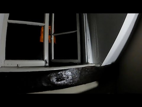Eerie Footage Captures Ghost Opening Window