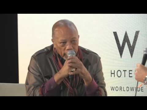 IMS Engage 2015: Quincy Jones In Conversation With Pete Tong