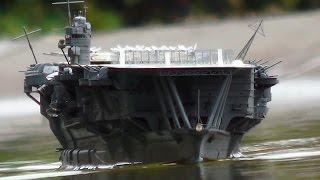 呉艦隊 1/350 RC 航空母艦 加賀