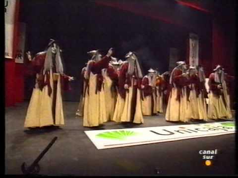 Comparsa - El Brujo \ Actuación Completa en la FINAL \ Carnaval 1995