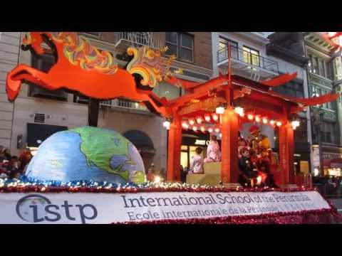 San Francisco Chinese New Year Parade 2014 International School of the Peninsula - 02/19/2014