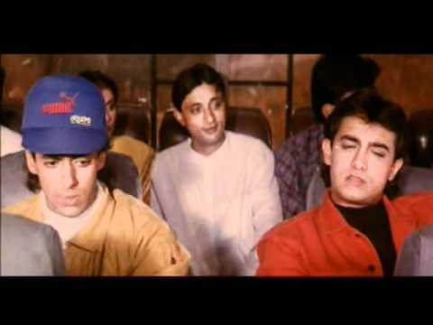 Andaz Apna Apna (bus Scene).mpg video