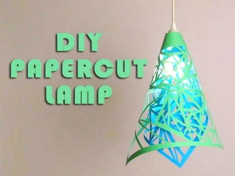 DIY Paper Cut Lamp