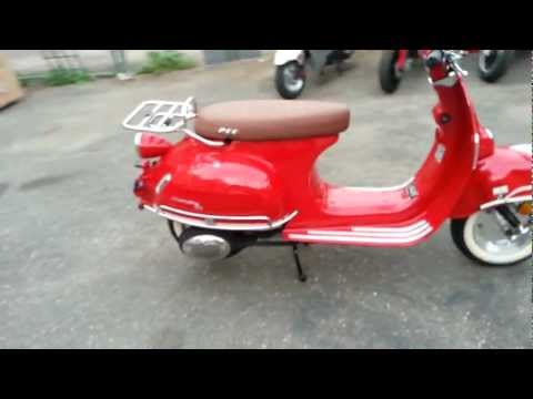 Puma cycles valentine 50cc 150cc chinese scooter review
