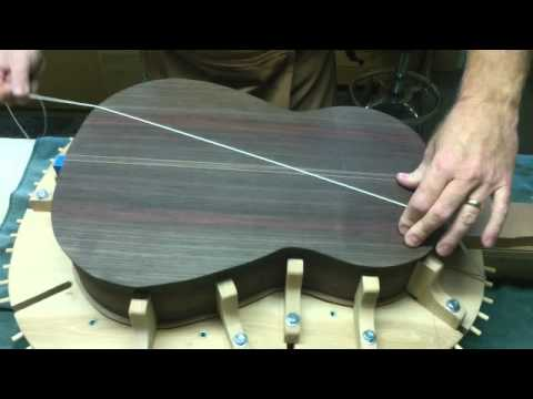 Classical guitar making. My 24th guitar build Music Videos