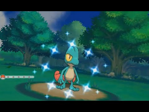 LIVE! Shiny Treecko on OR/AS after 2,806 SR's! (w/facecam)