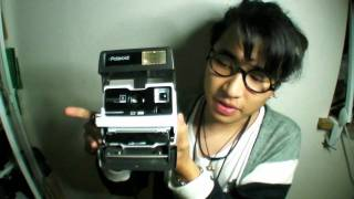 The Mijonju Show - Shoot multiple exposure on regular polaroid 600 camera.
