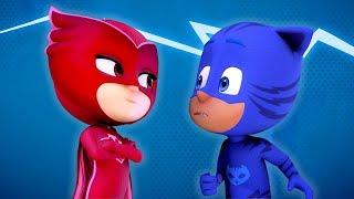 PJ Masks em Português Melhor da 1a Temporada 2 | Compilação de episódios | Desenhos Animados