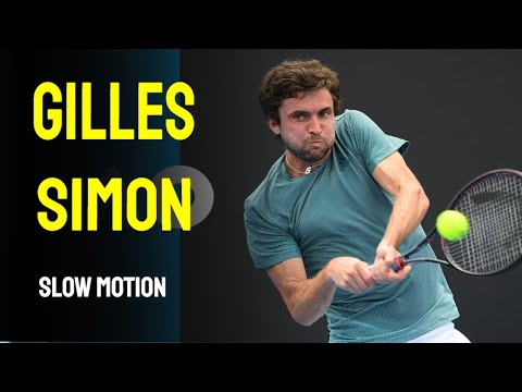 Gilles Simon Slow Motion - Cincinnati Masters 2014
