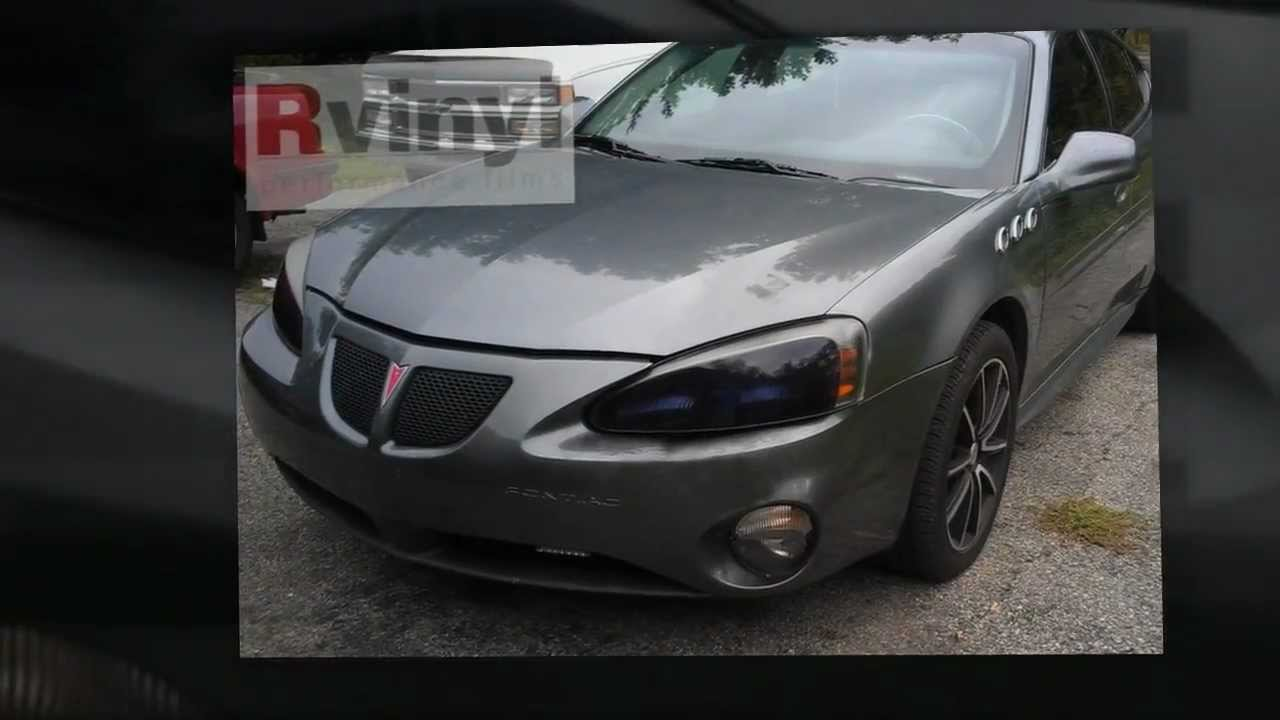 Blacked out headlight covers pontiac grand prix youtube