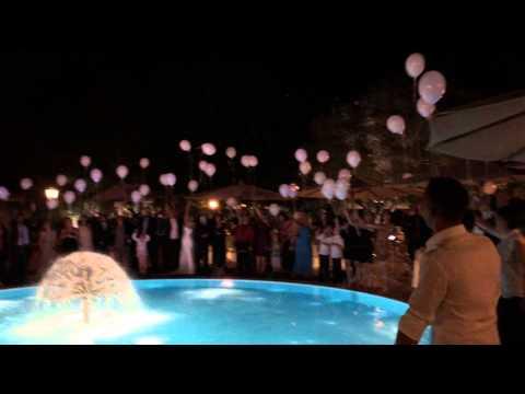 Lancio dei palloncini con LED - Genio Sound Animazione