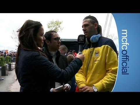 DEMICHELIS 'OFF THE BUS' INTERVIEW City v West Ham