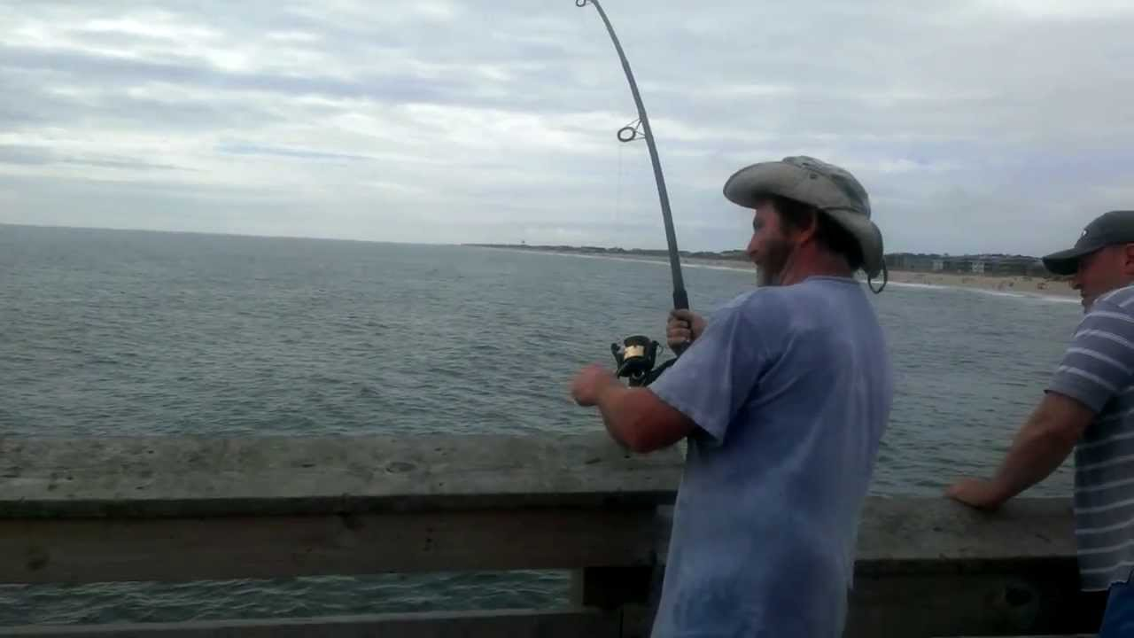 Pier fishing north carolina report littering